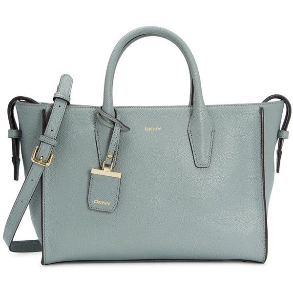 e838846c835d Womens Shoulder Bags DKNY Chelsea Duck Egg Pebbled Leather Tote ( 490) ❤  liked on