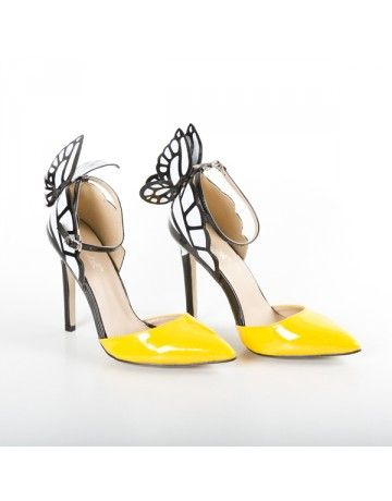 b2ea2a3d476c4 Shoes For Women - Buy Ladies Casual Formal Leather Canvas Shoes Footwear Online  India. Yellow Butterfly Heels