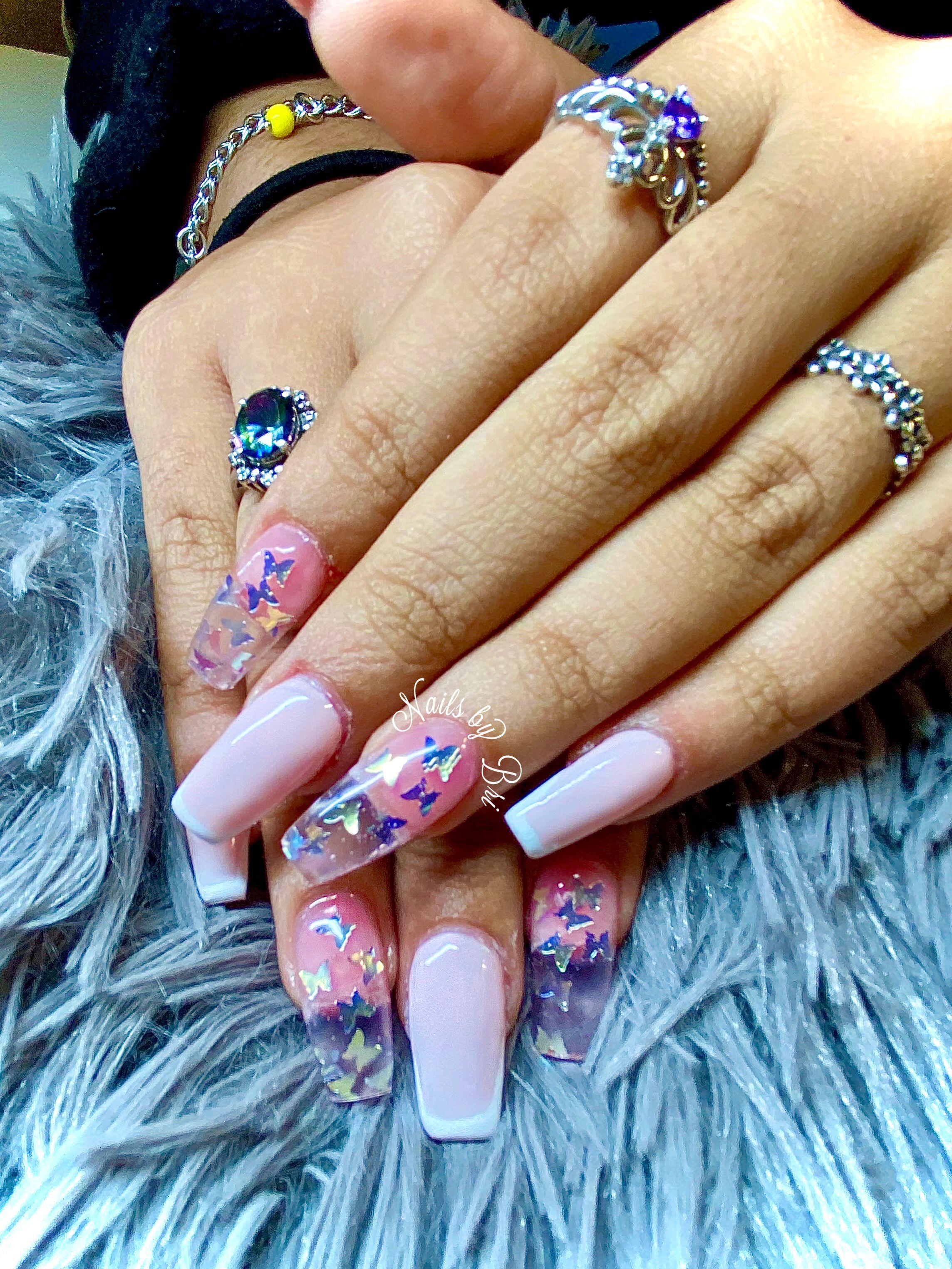 25 Super Hot Summer Nail Designs Pinmagz Square Acrylic Nails Fake Nails Pretty Acrylic Nails