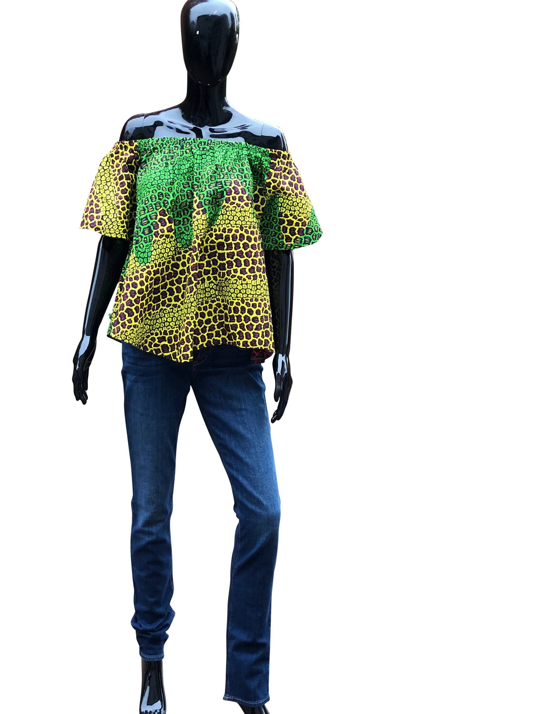 9f5cb63b2 Off shoulder top, crop top, clothing for women, ankara fashion, african  clothing for women, african styles, womens tops , gift her by EnoSaint on  Etsy