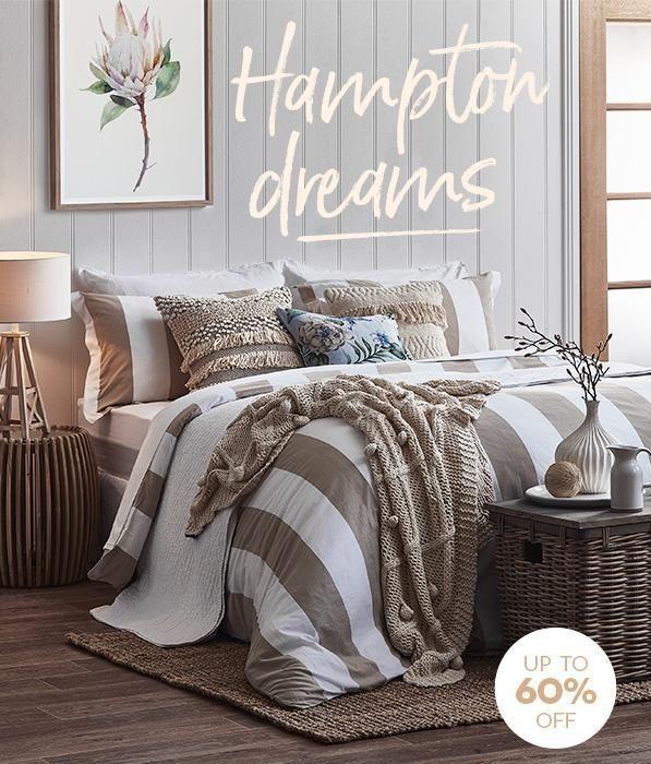 Hampton Dreams. Create a serene space