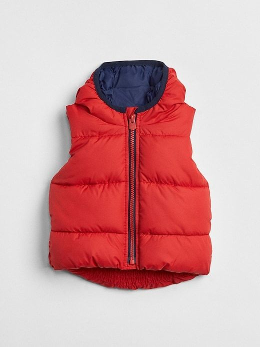 94782e8c7 Gap Baby Coldcontrol Max Puffer Vest Modern Red