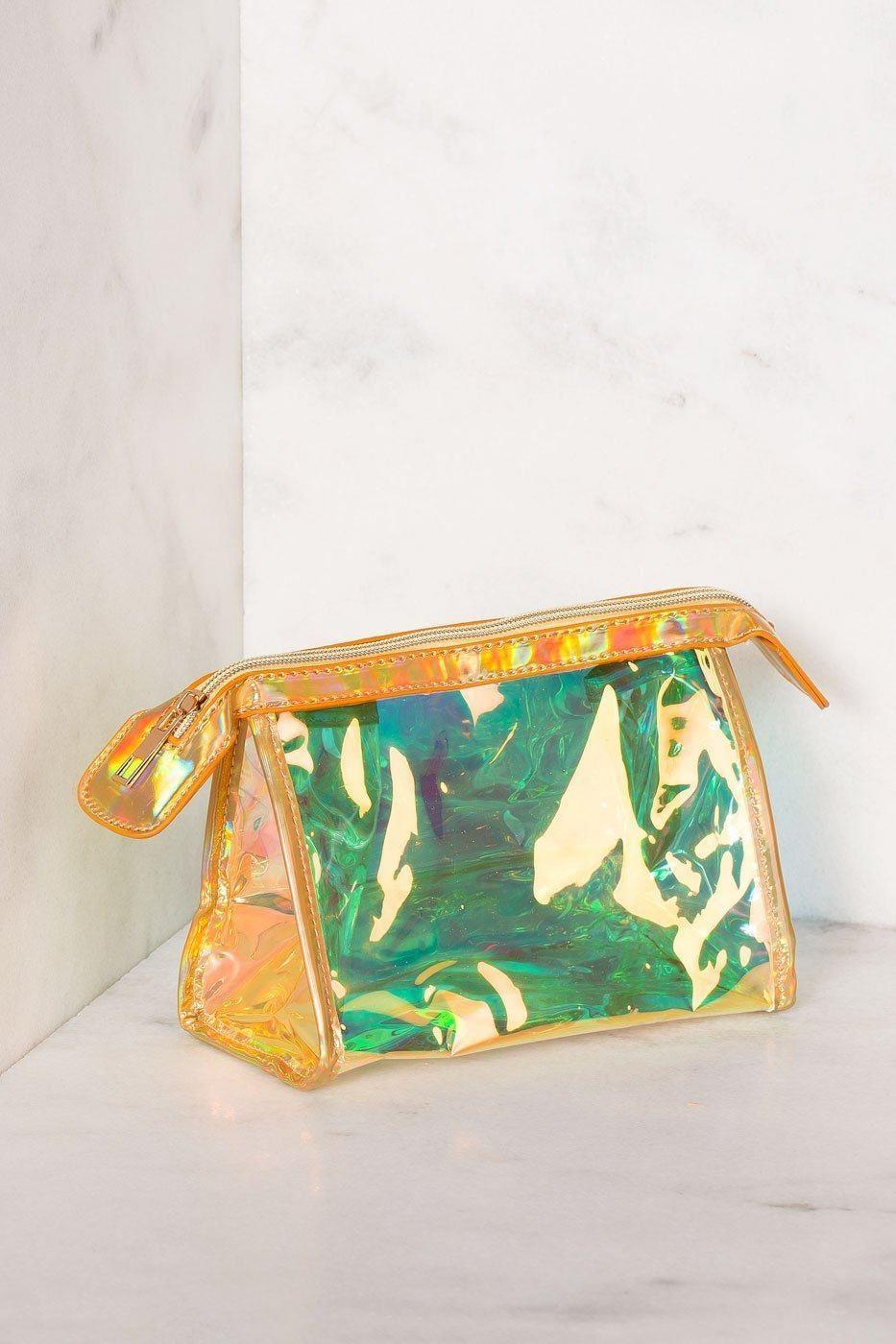 Daydream Iridescent Makeup Bag Iridescent clutch