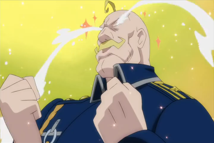 Fullmetal Alchemist Major Armstrong - Full Metal