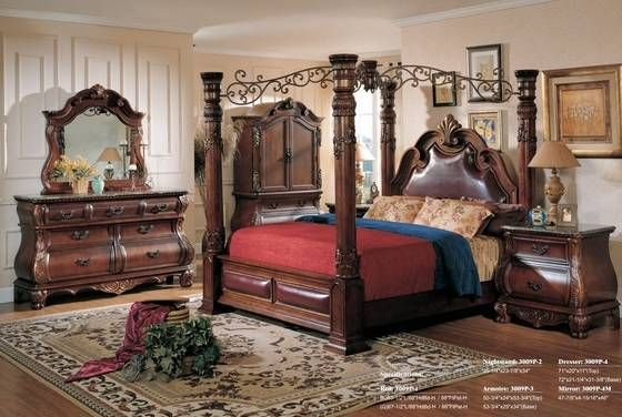 King Bedroom Set With Armoire Lanzhome Com King Bedroom Sets Bedroom Set King Bedroom