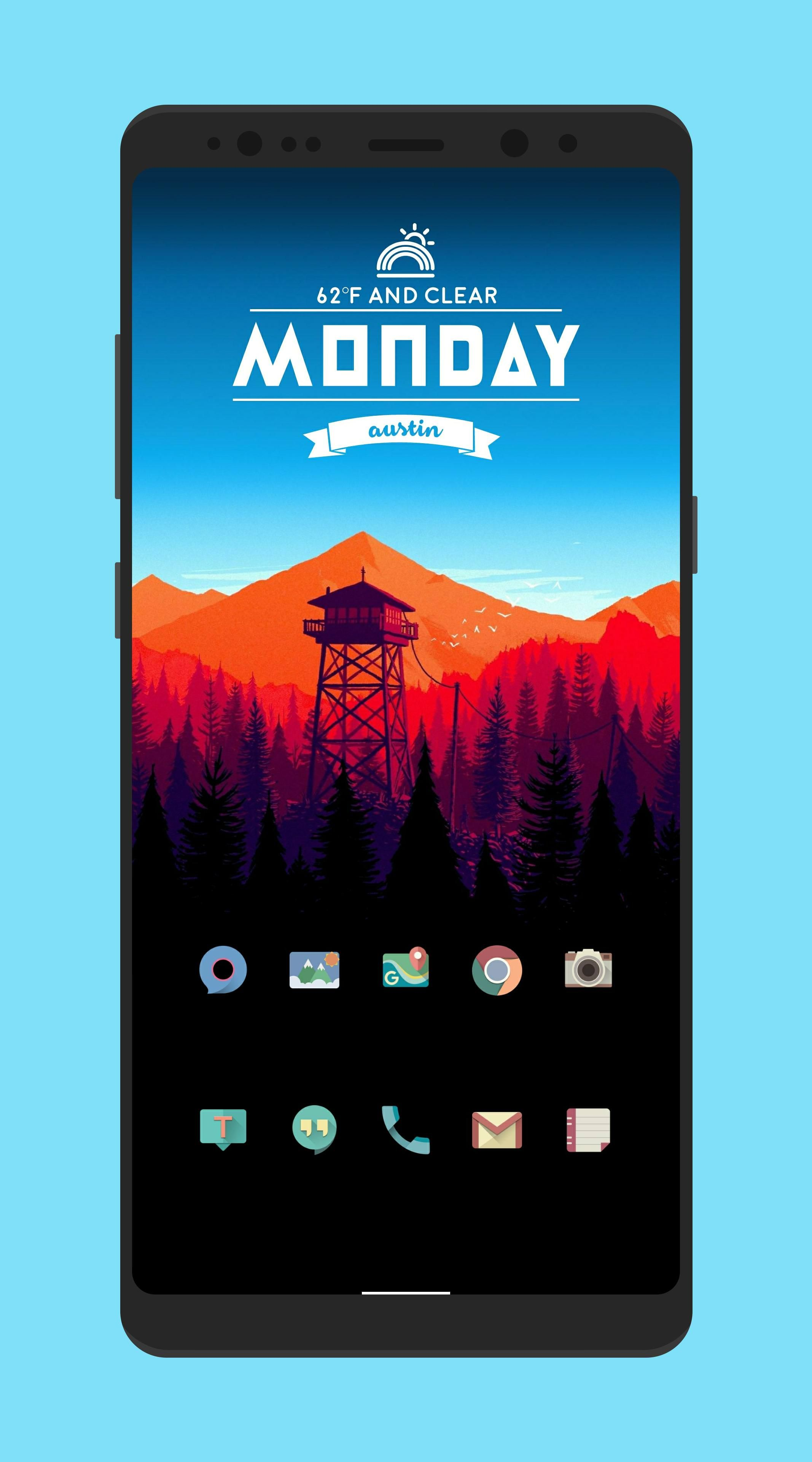 Image result for home screen kwgt in 2019 | Homescreen ...