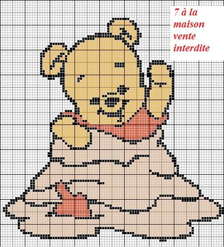 Diagramme tricot disney recherche google point de - Grille gratuite point de croix disney ...