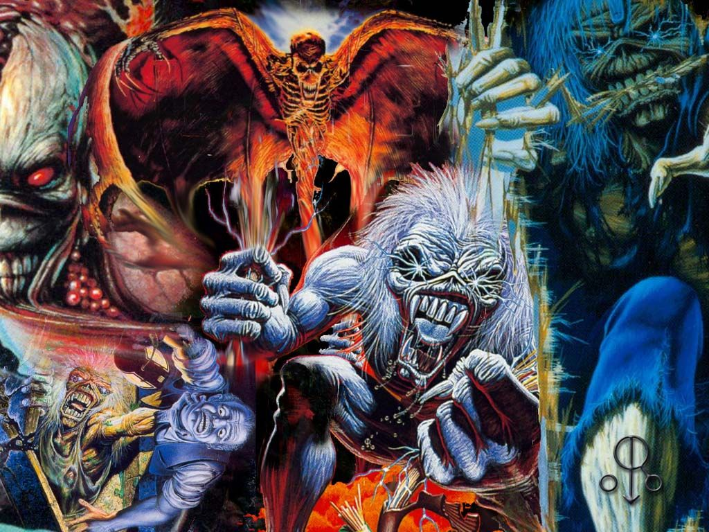Iron Maiden Number Of The Beast Wallpapers Widescreen With Images