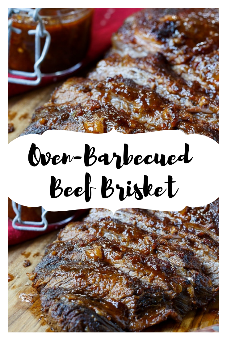 #Oven-Barbecued #Beef #Brisket #Steak #dinner #easyrecipe