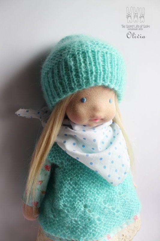 OLIVIA 16inch waldorf doll