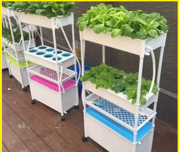 Hydroponic equipment for balcony | Vertical garden ...