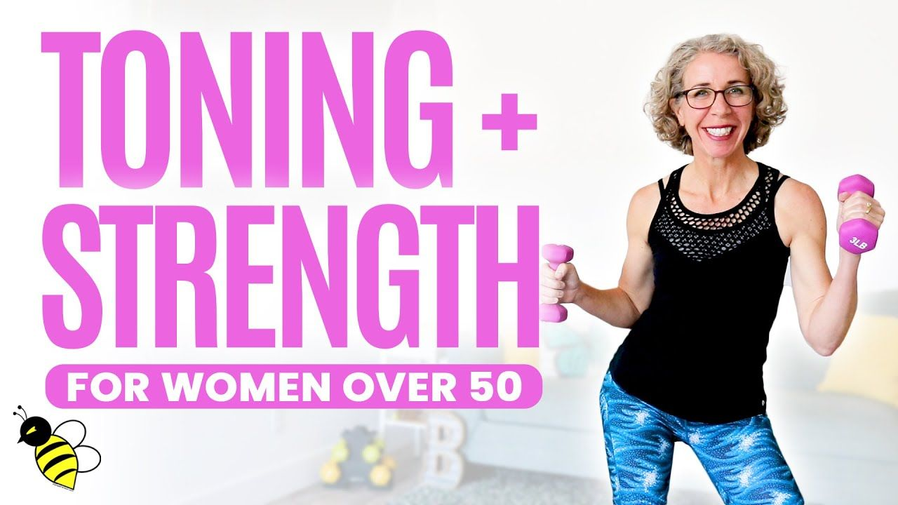 TONING + STRENGTH Workout for Women over 50 ⚡ Pahla B Fitness