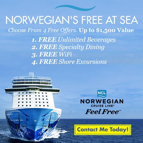 Supplier Marketing Resources My Travel Agent Portal Places To - Free wifi on cruise ships