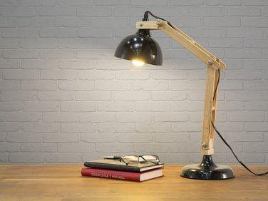 Lampe à poser lampe de salon de chevet de bureau noir