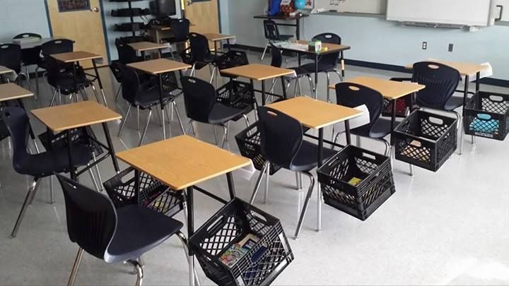 5 Clever Ways To Store And Organize Student Materials Classroom Seating Arrangements Classroom Storage Classroom Seating