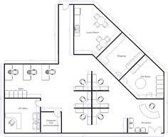 Open Office Layout Office Floor Plan Open Office Layout Office Layout