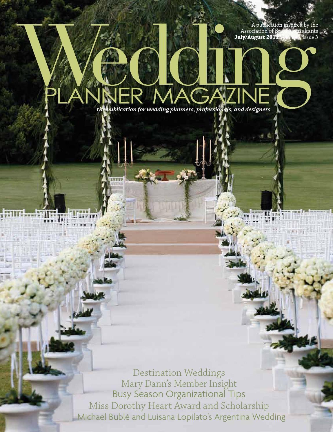 Wedding Planner Magazine Volume 1 Issue 3