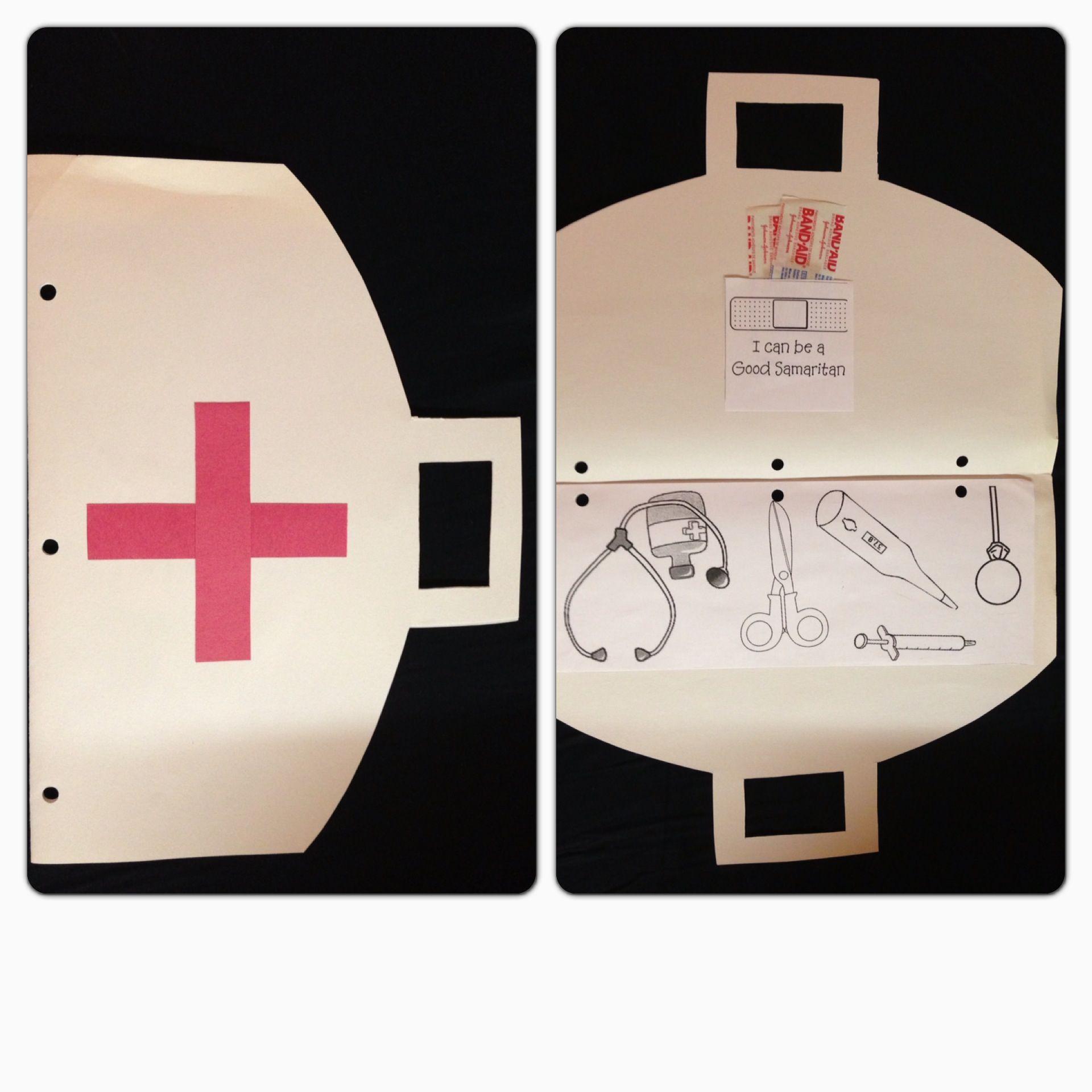 Good Samaritan craft for kids.   Bible school crafts ...