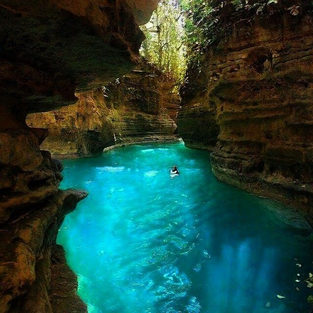 Canyon, Cebu, Philippines Canlaob River Canyon, Cebu, PhilippinesCanlaob River Canyon, Cebu, Philippines  Are you a water buff? If yes, this incredible boat tour in the Italian coasts is the best choice for you and your beloved one.  Crystal clear water surrounds this ominous, deep abyss in Texas which any thrill seekers should add to