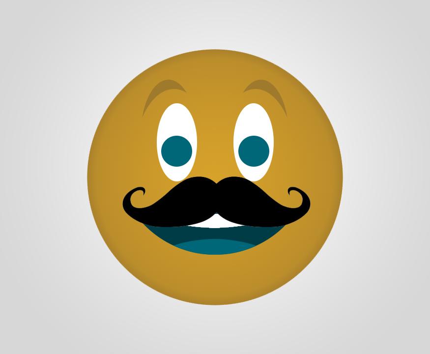 Mustache Smiley Emoji Jaguars Emojis Pinterest Smiley Emoji