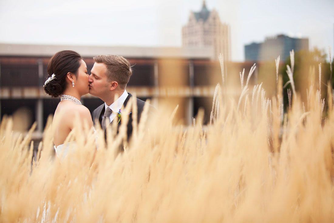 John Ciciora Photography – Harley-Davidson Museum. See more of 2015's Epic Milwaukee Wedding Photos here: http://www.marriedinmilwaukee.com/epic-photos-2015
