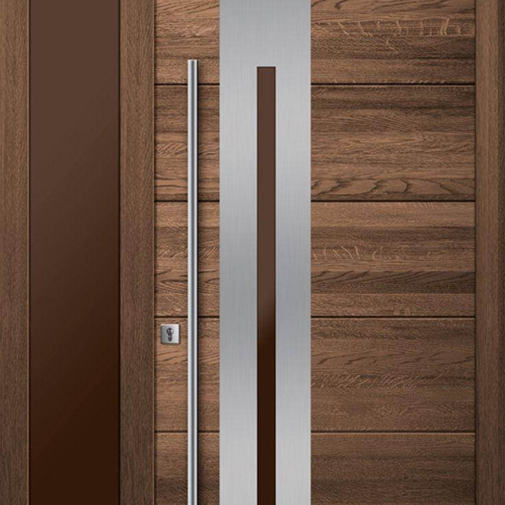 Exclusive oak wooden door Top Design WOOD