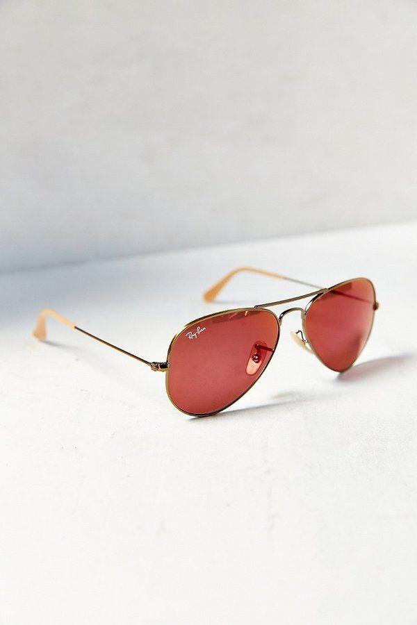 Ray-Ban Bronzed Aviator Sunglasses on shopstyle.com   Fashion ... 726243fb3b
