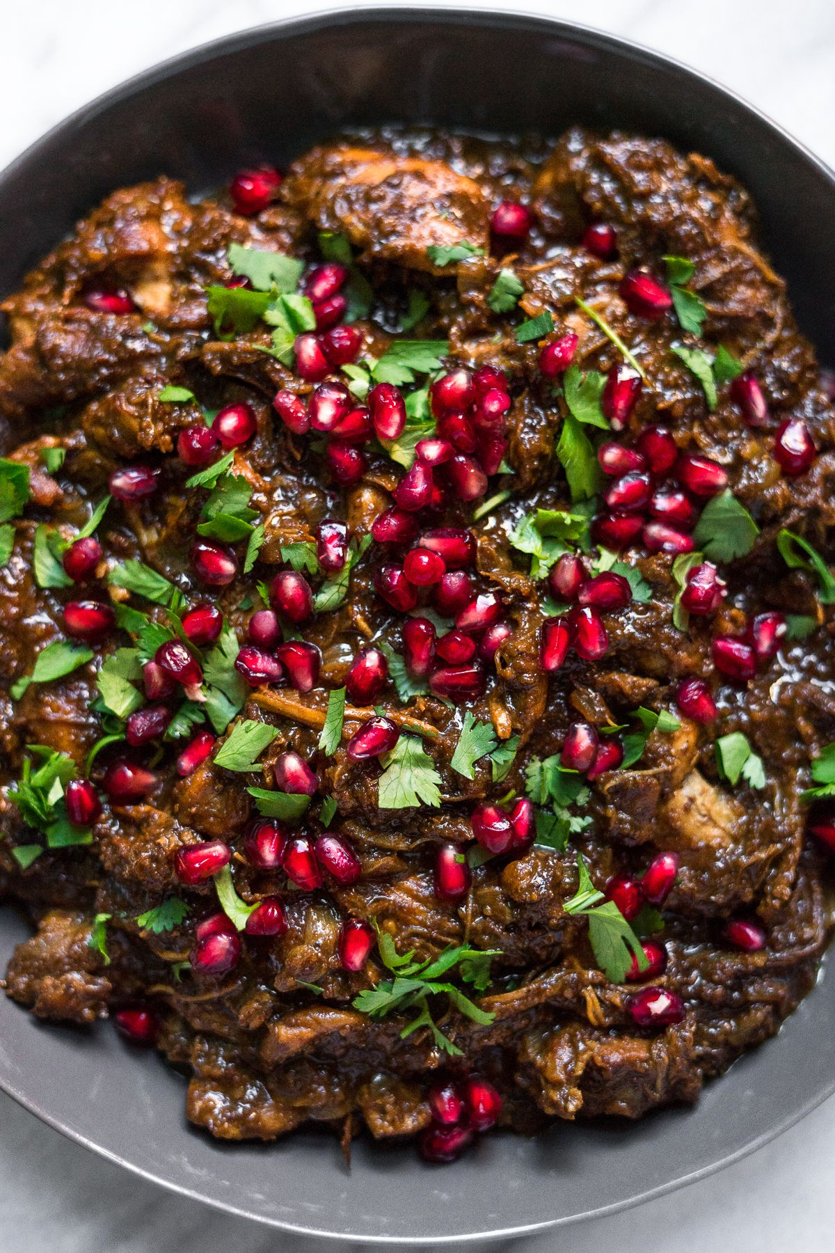 Instant Pot Fesenjan (Persian Pomegranate Chicken ...