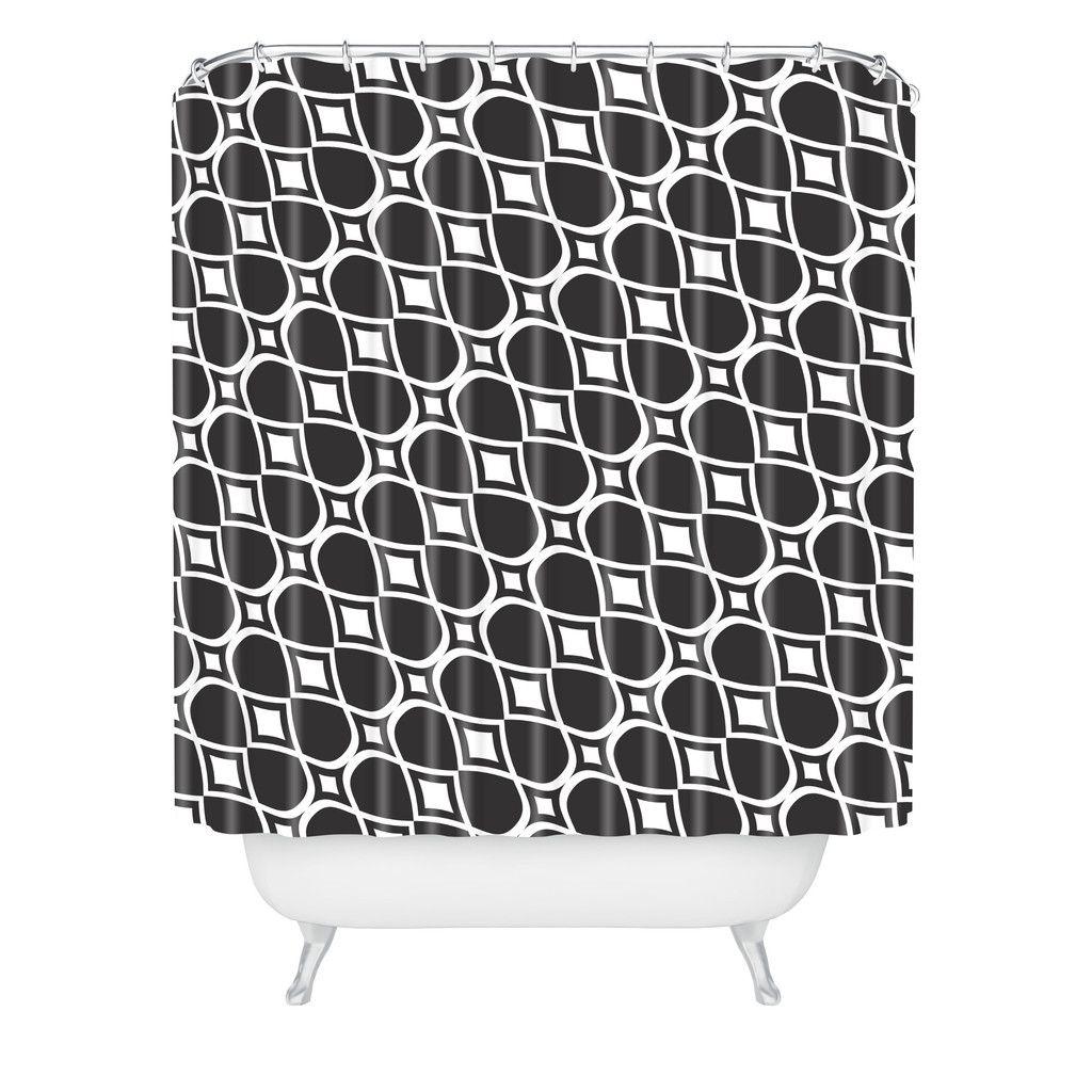 Heather Dutton infinita Shower Curtain   DENY Designs Home Accessories
