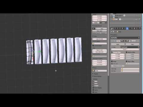 how to make a curve in tutorial blender