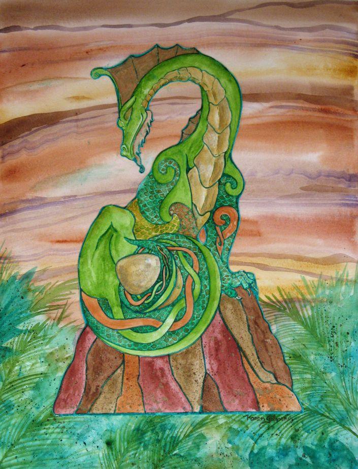 Elemental Manifestations: Earth by Karen Gillmore (karencomics)