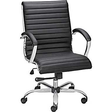 Staples Bresser Luxura Managers Chair Black At Staples Office Chair Chair Black Accent Chair