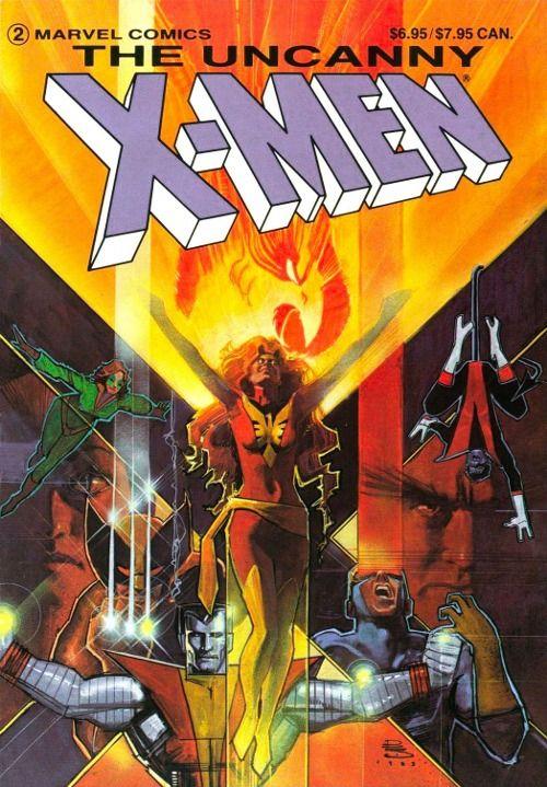 The Dark Phoenix Saga By Bill Sienkiewicz The Uncanny Comics Dark Phoenix