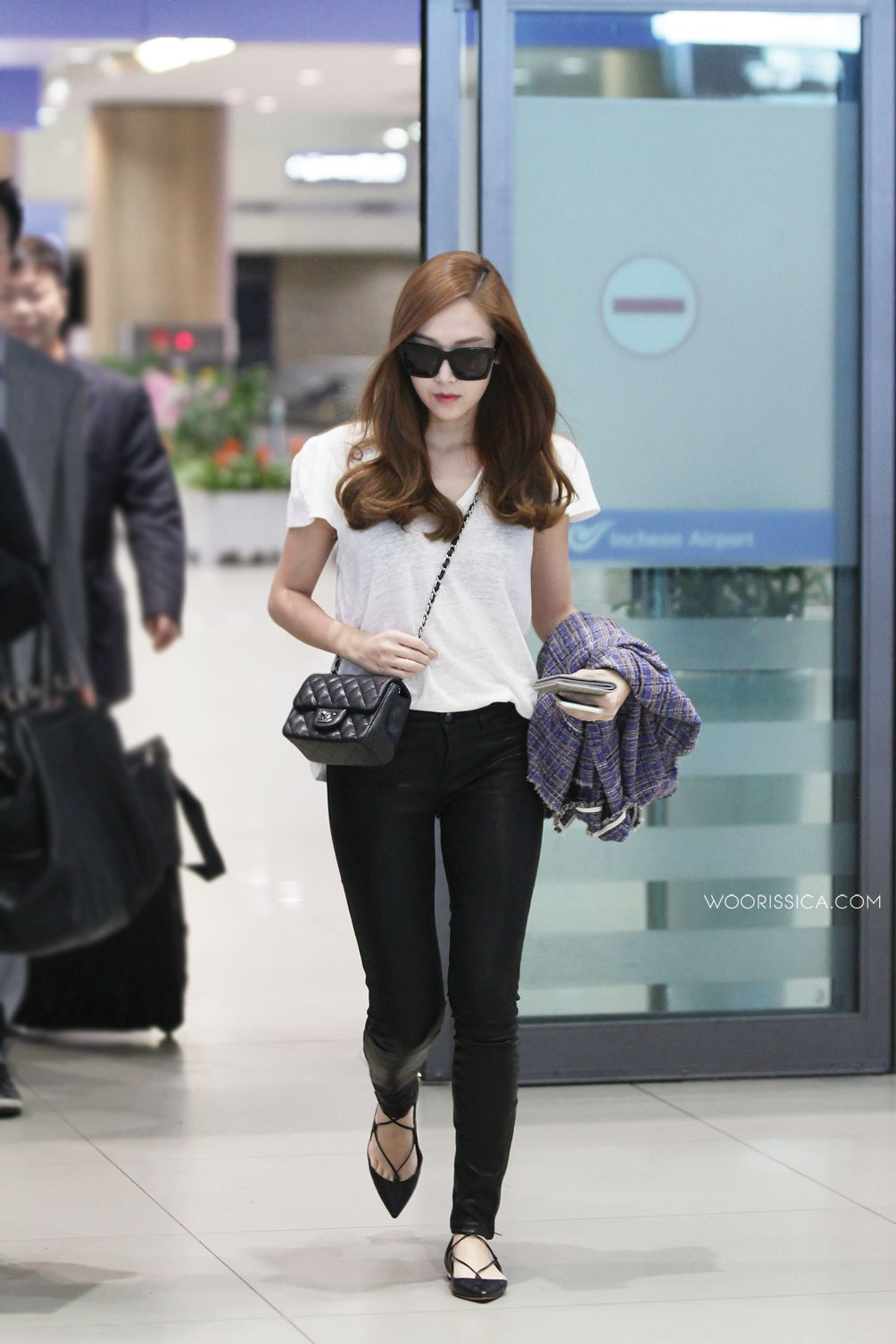Jessica Airport Fashion 2015 Jessica Jung Fashion Kpop Fashion Korean Fashion