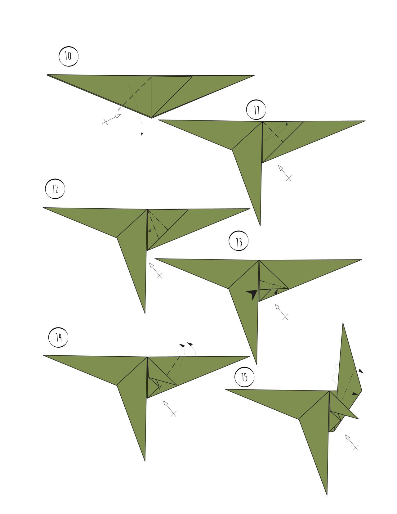 wikiHow — Rawr - Origami Dinosaur! And 2 More Ways to Make ... - photo#26