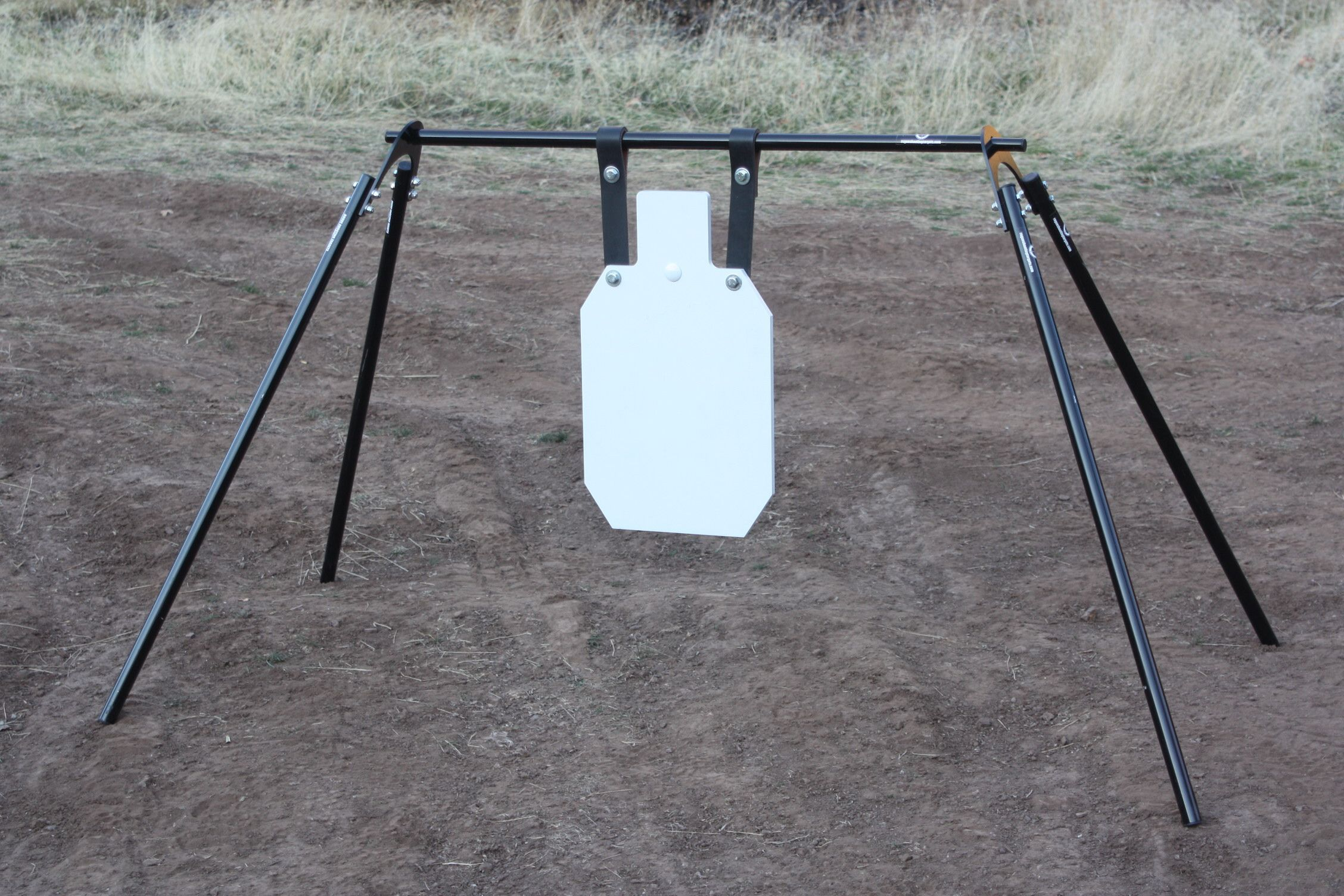Shooting Target Stands >> Rogue Shooting Targets Large Swinging Gong Stand With 1 2