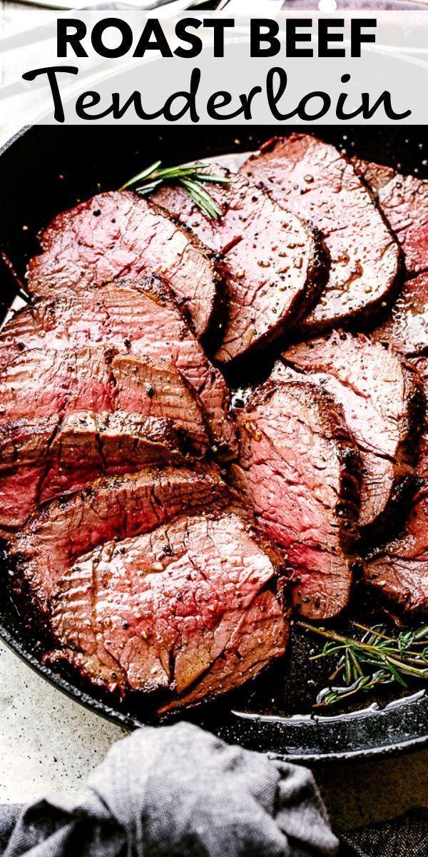 Melt In Your Mouth (MIYM) Roast Beef Tenderloin   BEST Recipe!