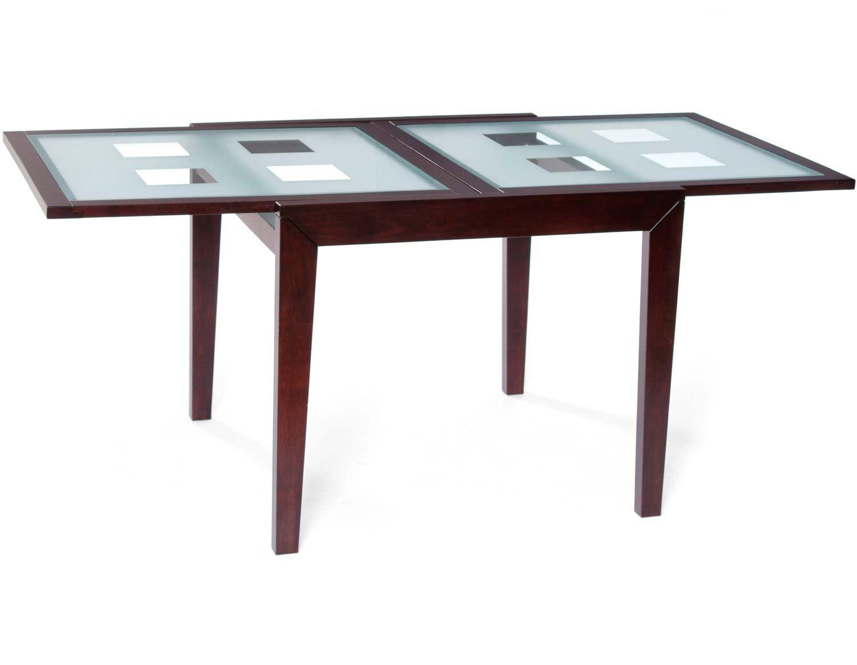 Rectangular Extending Glass Dining Table