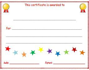 image result for free certificate templates activities for