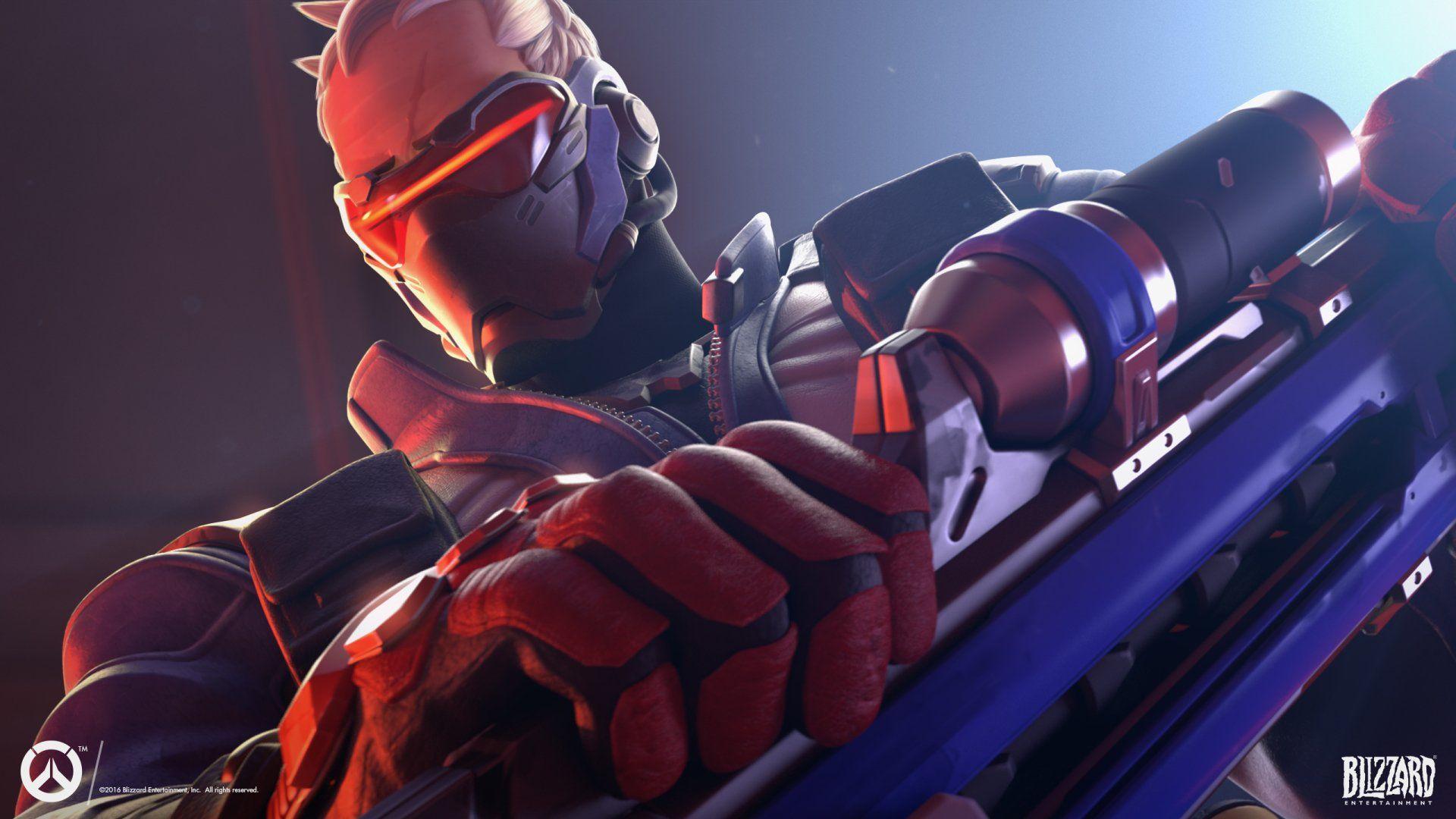 Video Game Overwatch Soldier 76 Overwatch Wallpaper Soldier 76 Overwatch Soldier