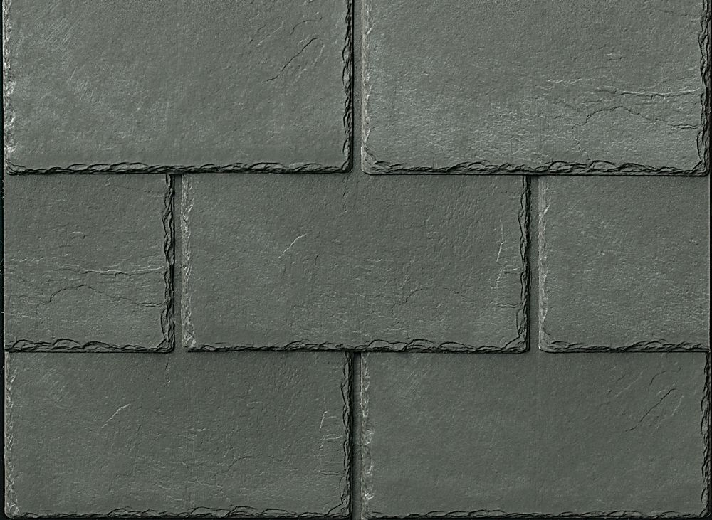 Inspire synthetic slate shingles Cool Roofing