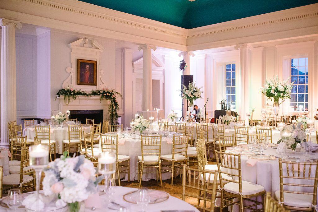 Wedding Reception Set Up At The Old Exchange Building In Charleston Sc Coordinators Mac B Events P Special Event Planning Charleston Wedding Wedding