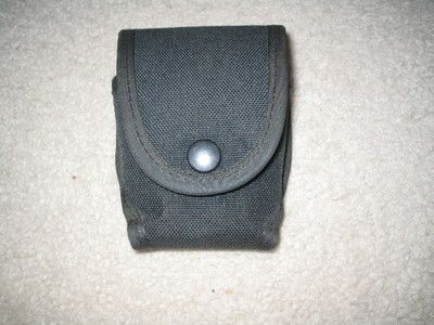 $16.00 #HANDCUFF #CASE #BLACK #NYLON #BUTTON #SNAP #SIDEKICK #BY #MICHAELS #OF #OREGON #APEAK #MILITARY #SURPLUS #COMBAT #ARMY #NAVY #MARINE #AIRFORCE