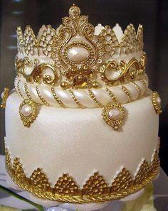 gold birthday cakes Google Search Gold Birthday Ideas