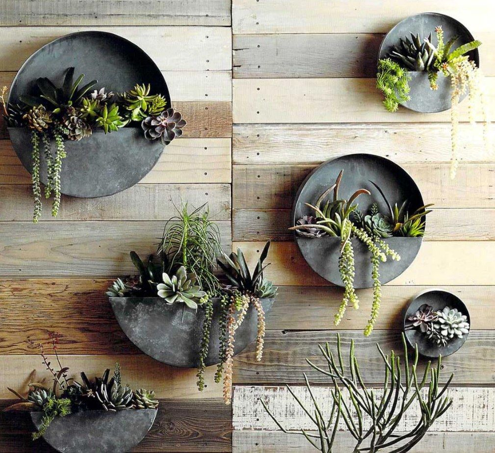 Orbea zinc circle planter by Roost from Modish Store. modishstore.com. Photo: Courtesy of Modish Store   Architectural Digest