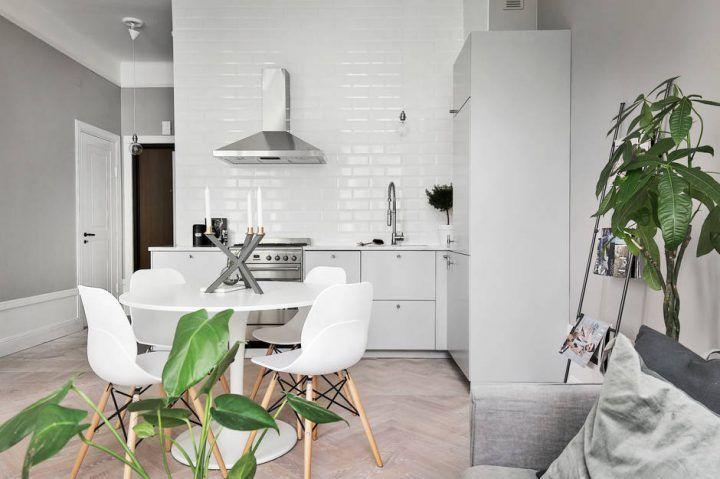 Apartamento individual bien aprovechado Decoracion pisos pequeños