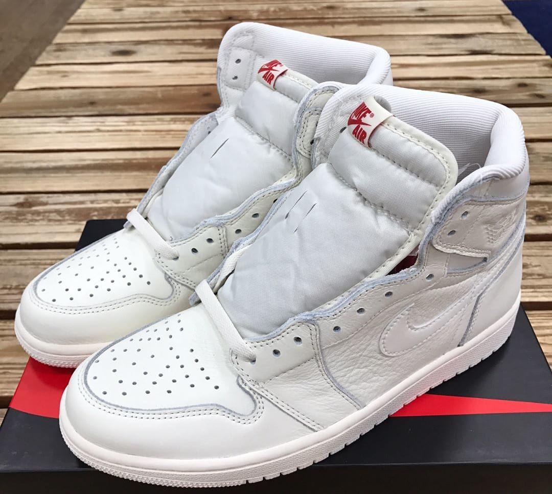 2593ec3a803b Air Jordan 1 High OG White 2017 Release Date Tongue