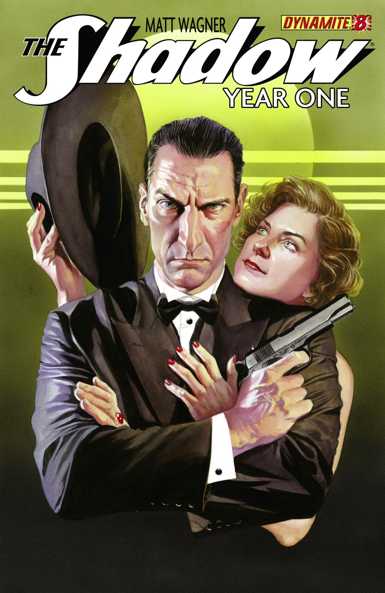 Not Pulp Covers The Shadow Year One Cover By Alex Ross