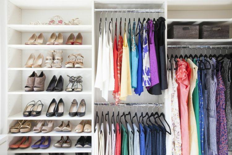 Ordnung im Kleiderschrank – 40 Tipps zum optimalen Einräumen ...