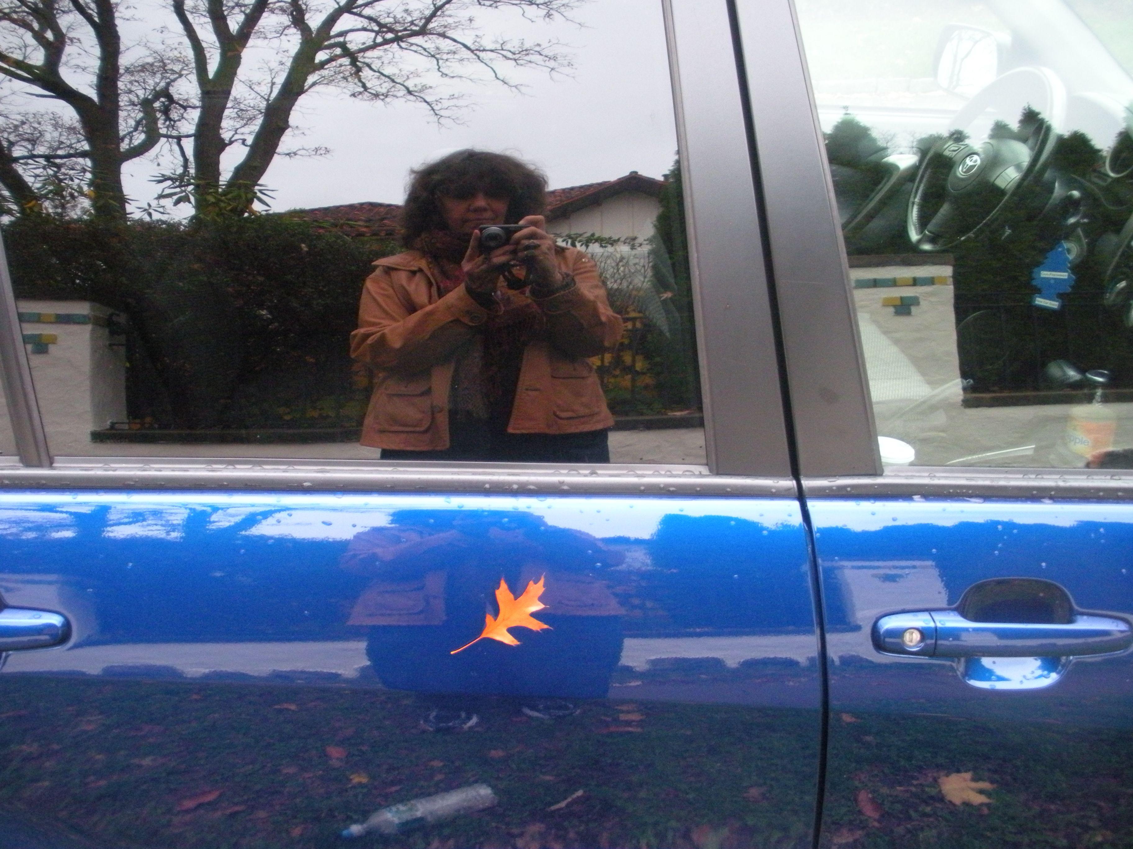 Self Portrait on Car